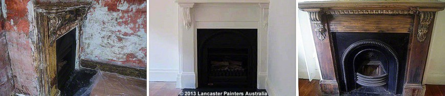 Ashfield Cottage Fireplace Reconstruction