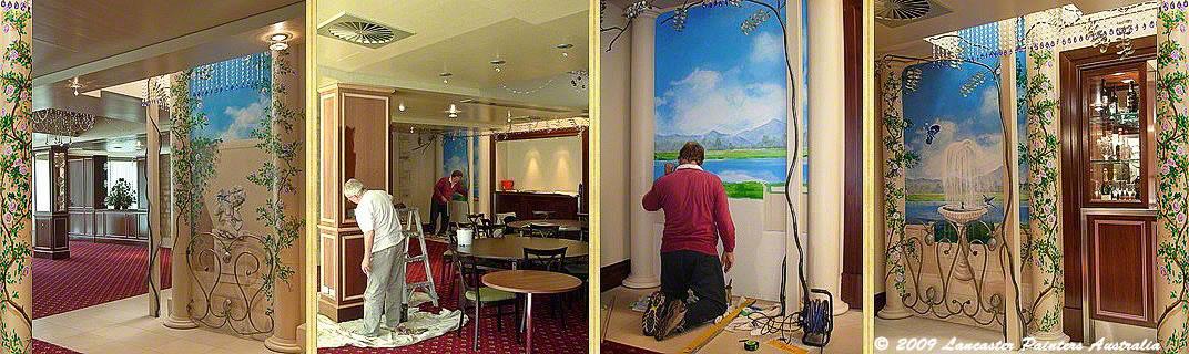 Auchendarroch House Painting & Artistic Work