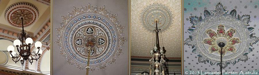 Australian Heritage Decorative Ceiling Roses Cornices