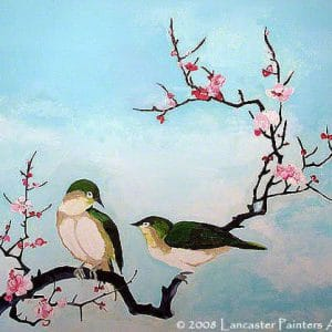 Beautiful Spring Birds Art