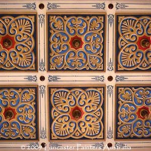 Beautiful Traditional Heritage Ceiling Motifs