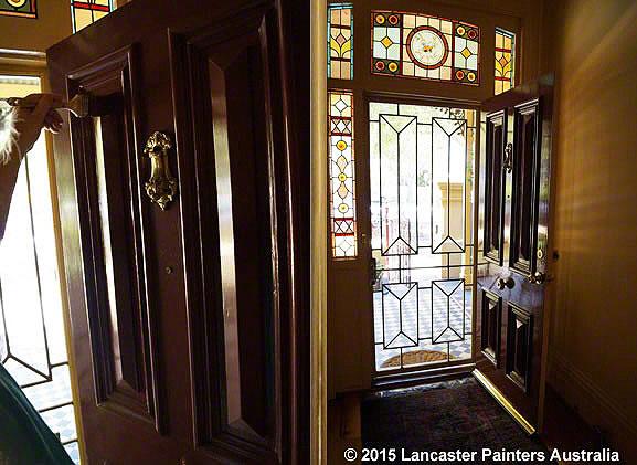 Cortina Heritage Front Door Painting