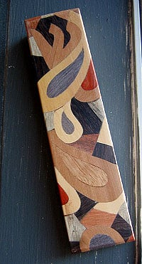 The Decorative Arts - Marquetry Mezuzah
