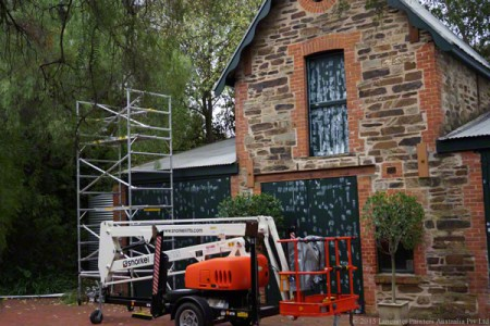 Heritage Building Preparation Work