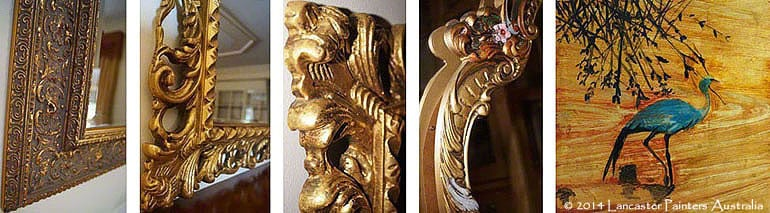 Heritage Gilded Mirrors Water Gilding Art
