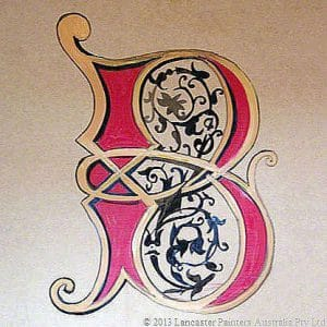Heritage Gothic Letter B