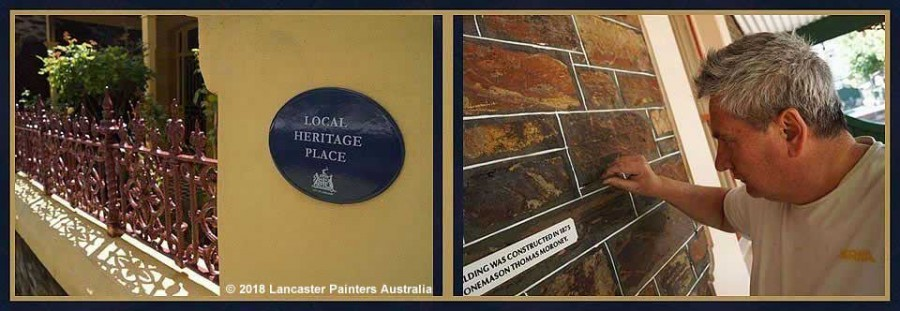 Heritage Painters Adelaide Heritage Projects