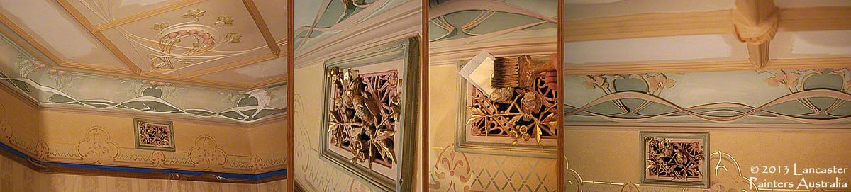 Auld Reekie Heritage Painting & Decorating Reconstruction Work