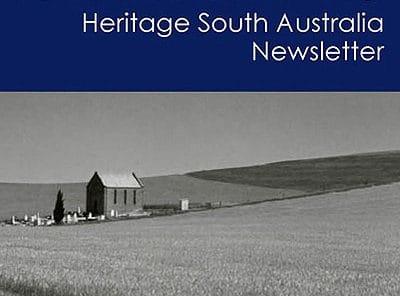 Heritage SA Newsletter