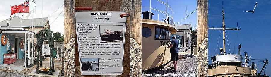 Port Adelaide Historical Society HMS Tancred Tug Boat Wheelhouse Heritage Conservation Restoration