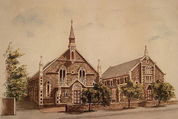 Australian Heritage Architecture. Heritage Styles Australia - Payneham Road Uniting Church.