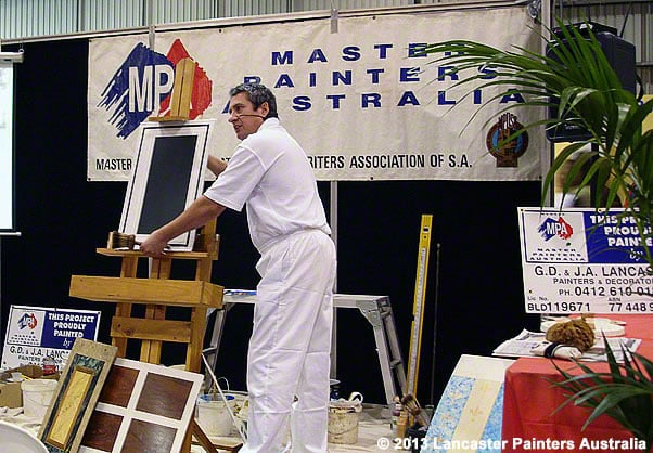 Master Painters Association DIY Demo