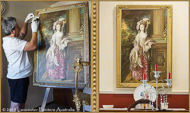 Professional Heritage Art Cleaning and Frame Restoration