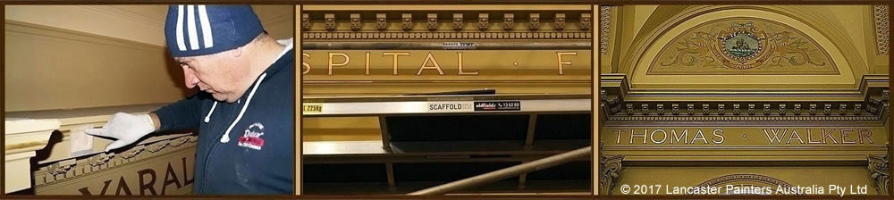 Rivendell Great Hall Progressive Gilding