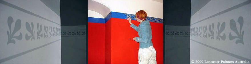 Roseneath Heritage Hand Painted Wallpaper & Stencilling