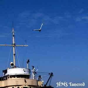 HMS Tancred Wheelhouse