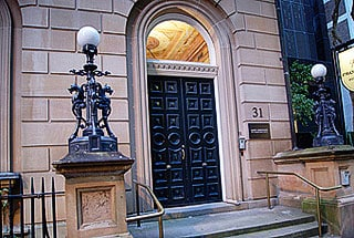 Lowy Institute Front Doors Repaint Work