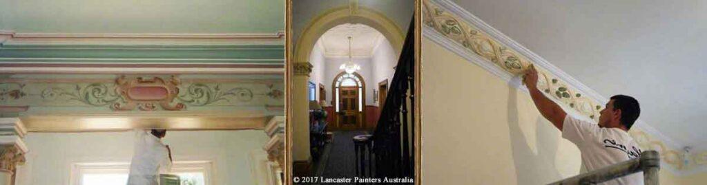 Traditional Heritage House Decorative Finishes Adelaide Melbourne Sydney