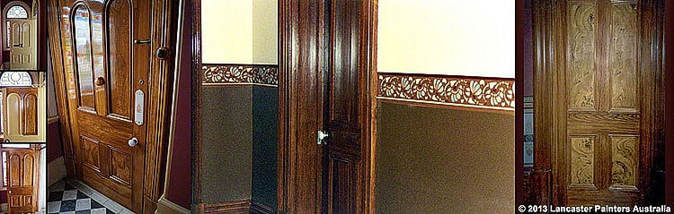Heritage Faux Wood Grained Doors