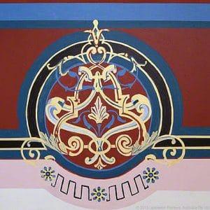 Traditional Heritage Motif Design